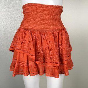 Ramy Brook Women  MiniSkirt Orange Size XS  g5